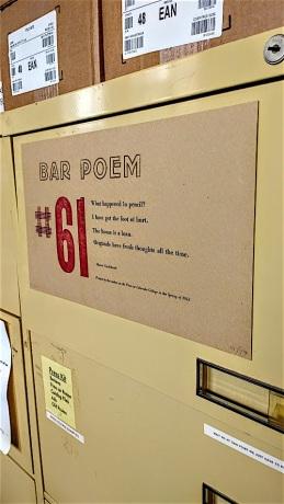 bar poem