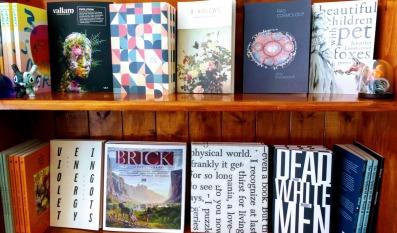 top shelves