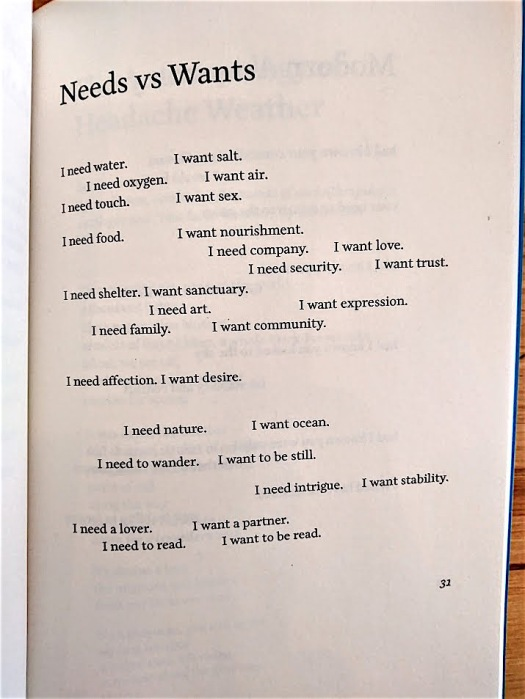 needs wants