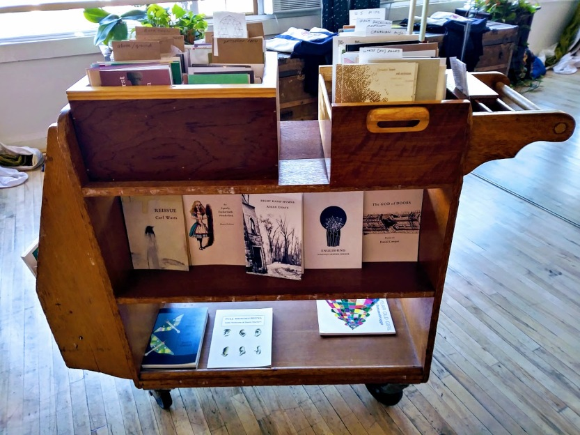 chapbook cart